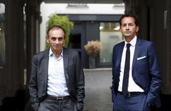 Eric Zemmour (à gauche) et Hakim El Karoui (à droite).