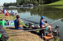 22ème Championnat du Monde de Pêche au coup pour dames. Source: Dailymotion.