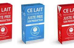 À partir du 2 novembre, le lait sera distribué dans tous les points de vente du géant de la distribution en France, soit 5200 magasins.