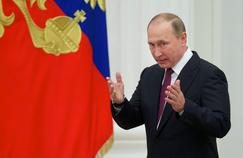 Vladimir Poutine, le 22 septembre à Moscou.