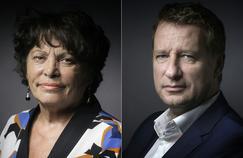 Michèle Rivasi et Yannick Jadot, finaliste de la primaire écologiste