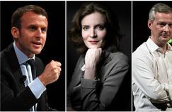 Emmanuel Macron, Nathalie Kosciusco-Morizet et Bruno Le Maire ont du mal à s'imposer dans le paysage politique français face aux sexagénaires.