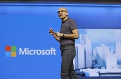 Microsoft atteint des sommets en Bourse, et ce n'est pas grâce à Windows