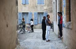 Un centre d'accueil pour demandeurs d'asile dans le village de Lagrasse (Aude).
