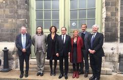 Pic Twitter de l'Élysée: «Le projet de reconversion des Ateliers Berthier permet d'ouvrir davantage l'Opéra de Paris au grand public. C'est un projet historique».