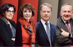 Myriam ElKhomri, Marisol Touraine, François Asselin et Pierre Gattaz.
