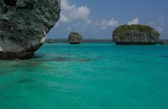 La mission a débuté en août par une exploration autour de l'île des Pins (ici, la baie d'Upi.