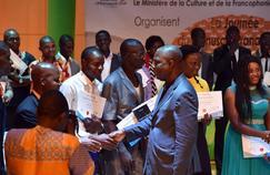 Le ministre Ivoirien de la Culture et de la Francophonie, Maurice Kacou Bandaman a salué les lauréats des prix de littérature ce samedi à Abidjan.
