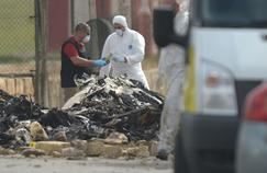 L'avion s'est écrasé dans l'aéroport de Malte lundi matin.