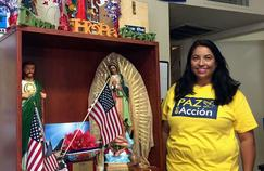 Claudia Faudoa, volontaire de l'ONG Promise Arizona.