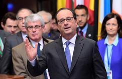 François Hollande, le président de la République, ici à Bruxelles.