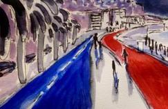 L'aquarelle du peintre colombien a été partagée des milliers de fois sur les réseaux sociaux.