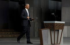Malgré cette croissance décevante, la cote de popularité de Barack Obama, de 52%, fait rêver les Européens.