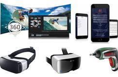CyberLink et le montage vidéo, Newzik roi de la partition, Samsung et Zeiss pour l'immersion et Bosch le polyvalent.