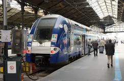 Les quais de la gare Saint-Lazare, à Paris. Crédit: Chris Sampson. (Flickr).