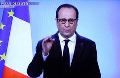 Lors de son discours télévisé du 1er décembre 2016, François Hollande a défendu son bilan mais annoncé qu'il ne serait pas candidat à l'élection présidentielle de 2017.