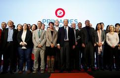 Entre autres, Emmanuelle Cosse, Jean-Christophe Cambadélis, Bruno Le Roux et Najat Vallaud-Belkacem samedi à Paris.