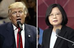 Donald Trump s'est entretenu vendredi avec la présidente taïwanaise Tsai Ing-wen