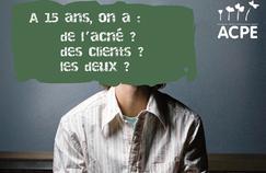 Campagne de sensibilisation de l'association Agir contre la prostitution des enfants.