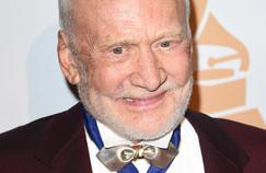 Buzz Aldrin, le 14 juillet 2016