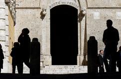 Le siège de la banque Monte dei Paschi, à Sienne.
