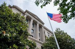 Le département américain de la Justice à Washington.