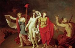 La Vérité conduit la République et l'Abondance, huile sur toile de Nicolas de Courteille (1793).