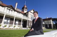 En avril dernier, Richie McCaw a reçu la plus haute décoration de son pays.