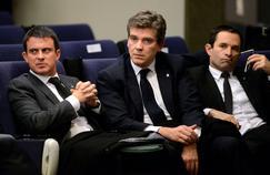 Manuel Valls, Arnaud Montebourg et Benoît Hamon en 2013, quand ils étaient tous ministres de François Hollande. Désormais ils vont s'affronter à la primaire socialiste de janvier prochain, après avoir empêchéle Président de se représenter.