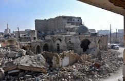 Le quartier de Bab al-Nairab, à Alep.