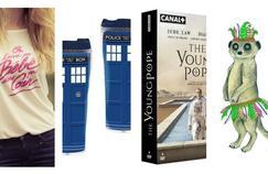 Le T-shirt  Dirty Dancing, le mug  Doctor Who... Notre sélection de cadeaux à moindre coût.