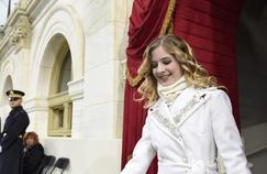 Jackie Evancho le 20 janvier 2017 quelques minutes avant sa performance à Washington, DC.