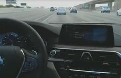 CES : dans les rues de Las Vegas à bord d'une voiture sans chauffeur