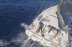 Fabrice Amedeo traverse actuellement l'océan Pacifique.