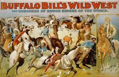 L'incroyable show de Buffalo Bill débarque en France en 1889 et revient en 1905.