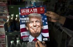 Le magazine chinois Global People faisait sa Une le 14 novembre sur Donald Trump, tout juste élu président des Etats-Unis. Crédits Photo: Johannes EISELE/AFP