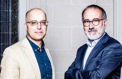 Laurent Dandrieu, rédacteur en chef à Valeurs Actuelles, et Jean-Pierre Denis, directeur de La Vie.