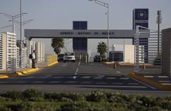 L'usine d'assemblage de General Motors à Villa de Reyes, aux environs de San Luis Potosi, au Mexique.