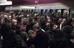 Le métro parisien, bondé (illustration).