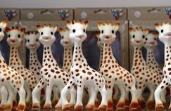 Sophie la girafe a été créée le 25 mai 1961.