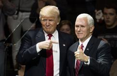Donald Trump et son vice-président, Mike Pence.
