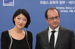 Fleur Pellerin et le président François Hollande.