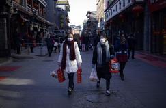 Séance shopping à Pékin, le 10 janvier 2017.