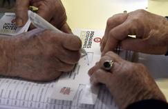 Un bureau de vote à Castelsarrasin, le 22 janvier 2016.