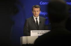 Emmanuel Macron le 19 janvier, à Paris.
