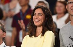 La compagne de Rafael Nadal était dans les tribunes de la Rod Laver Arena ce lundi.