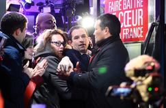 En assumant un programme pleinement à gauche, l'éphémère ministre de l'Éducation Benoît Hamon a su s'imposer. Y compris chez les internautes du Figaro.