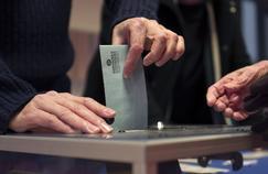 Un bureau de vote à Lille, le 22 janvier 2017.