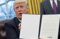 Le retrait des États-Unis du TPP était une promesse de campagne du président américain Donald Trump