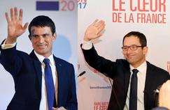 Manuel Valls avec 31,19 %. des voix est arrivé derrière Benoit Hamon qui a recueilli 36,21 % des suffrages.